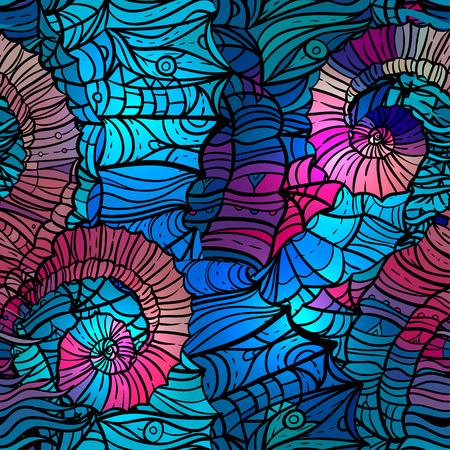Abstract mosaic pattern, vector illustration