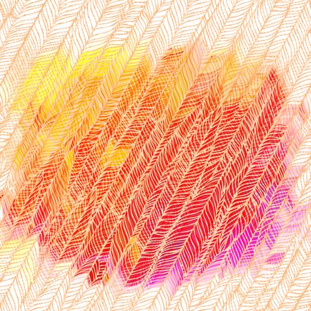 grass vector: Green grass vector patterned background