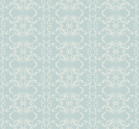 pattern vintage: Seamless vintage background baroque pattern. Vector illustration.