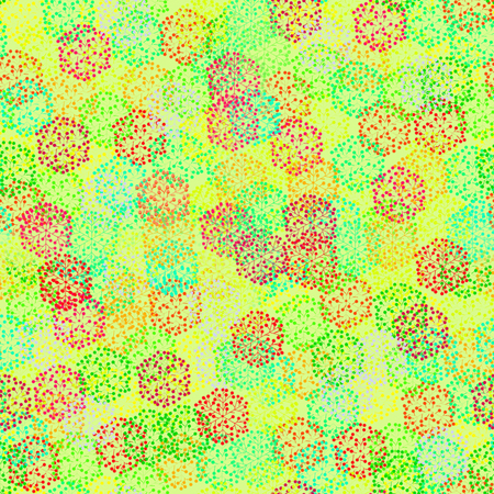 leafage: Seamless texture in warm and bright colors. Suitable for wrapping paper, gift wrapping, textile and background for all spring and summer holidays