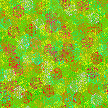 Seamless texture in warm and bright colors. Suitable for wrapping paper, gift wrapping, textile and background for all spring and summer holidays