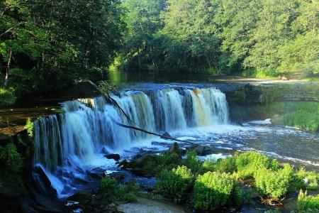 joa: Keila-Joa waterfall in Estonia near Tallinn