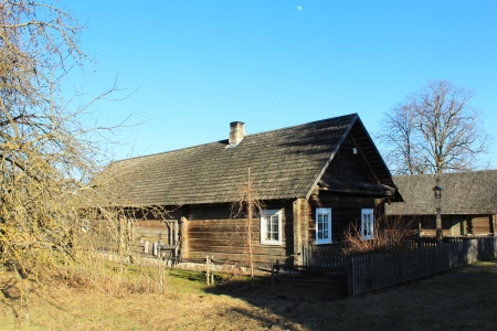 homestead: Traditional ancient homestead Lithuania