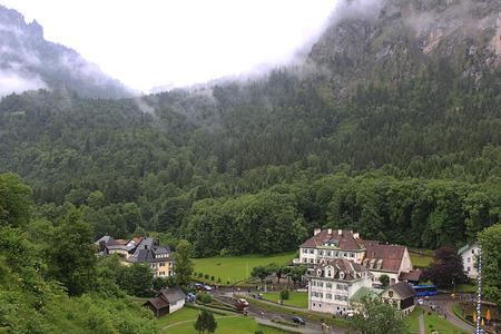 schwangau: Schwangau village in the valley