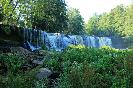 joa: Keila  Joa waterfall in Estonia near Tallinn