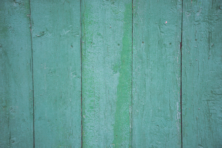 green boards painted with old paint, texture, background for website