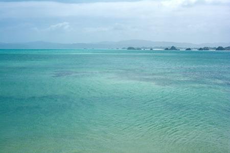 subtropics: Brillante blu subtropicali verde mare in Sud Giappone