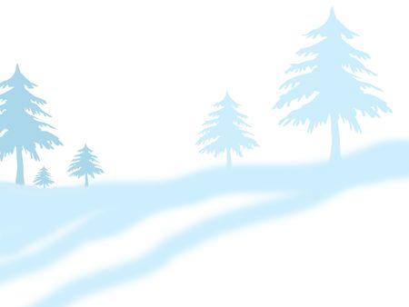winter landskape photo