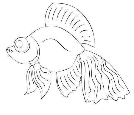 fish toy: pesce del giocattolo  Vettoriali