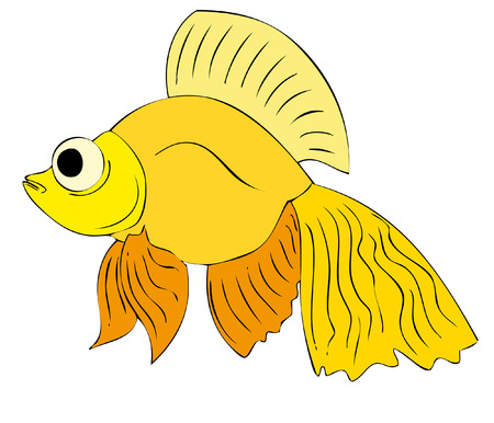 toy fish Vector