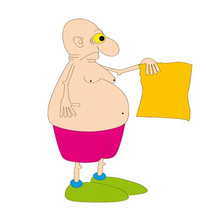 finally: fatty Illustration