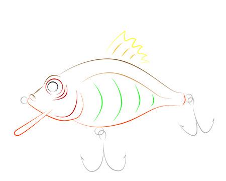fluke: fishing bait