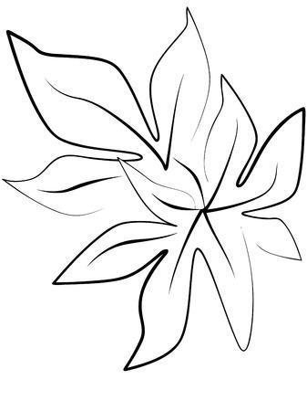 foliage Stock Vector - 7636604