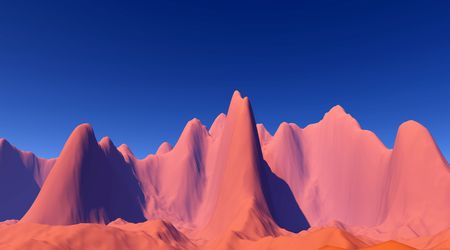 colorful space landscape photo
