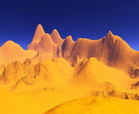 colorful  landscape photo