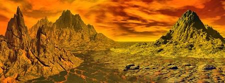 fantastic landscape photo