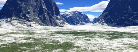 beautiful winter landscape Stock Photo - 8576757