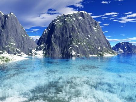 beautiful winter landscape Stock Photo - 8576786