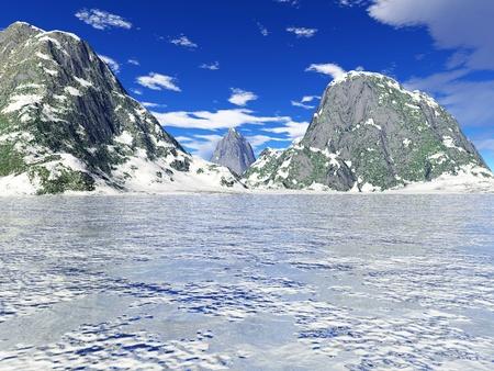 beautiful winter landscape Stock Photo - 8576790