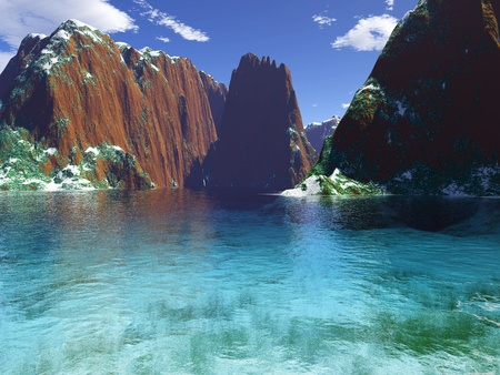 beautiful coast photo