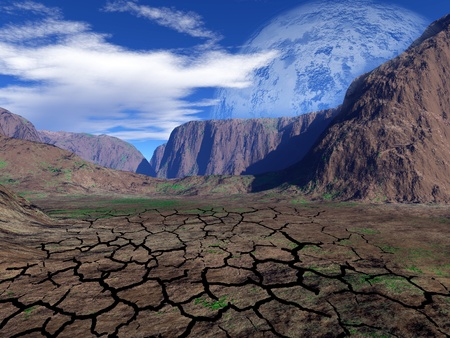 colorful fantasy landscape Stock Photo - 8928250
