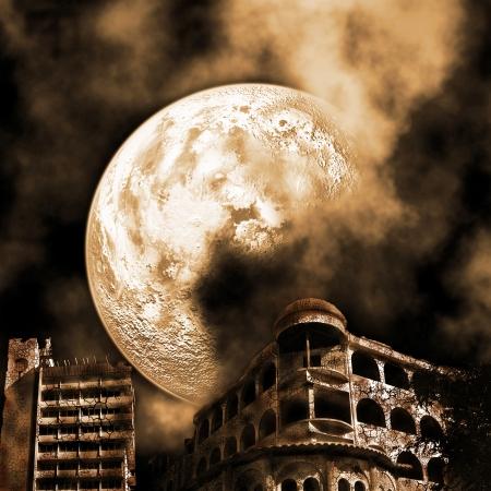 apocalyptic landscape photo
