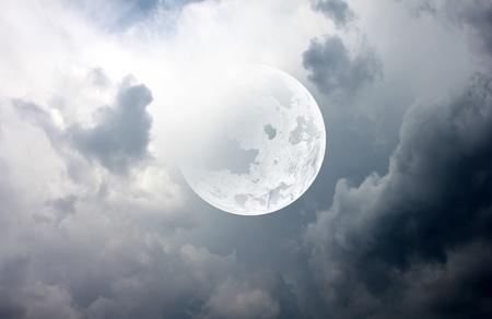 beautiful moon photo