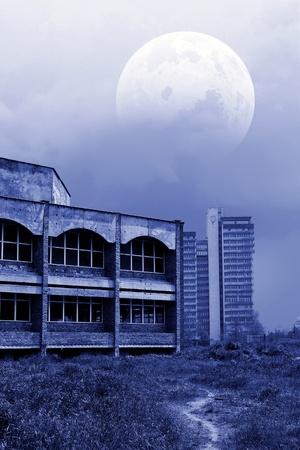 apocalyptic landscape Stock Photo - 9535716