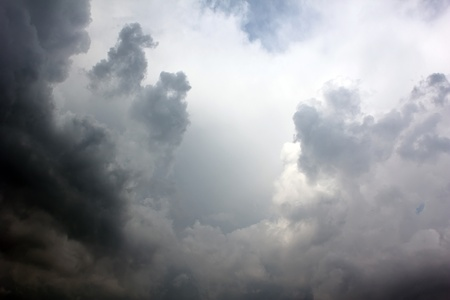 dark cloud: beautiful sky