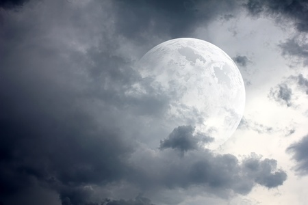 beautiful moon Stock Photo - 9631525