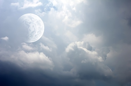 beautiful moon photo