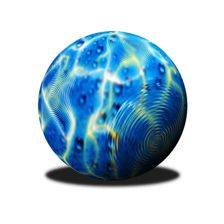 water ball photo