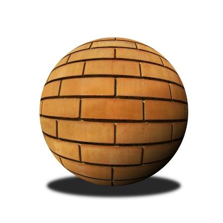 brick ball photo