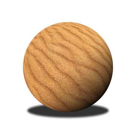 sand ball photo