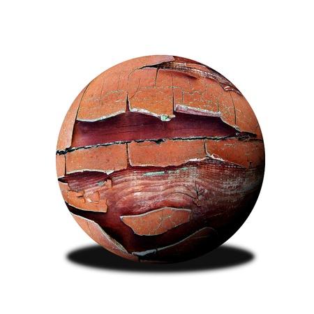 wooden ball photo