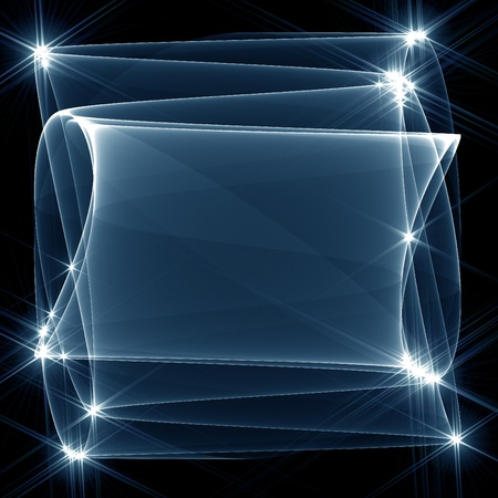 abstract fractal background  photo