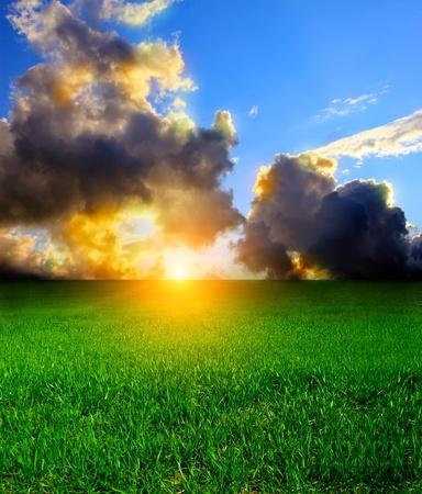 abandonment: A beautiful sky