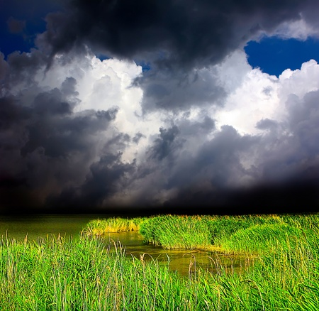 abandonment: The storm over the lake