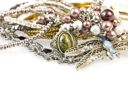 Women jewelry Stock Photo