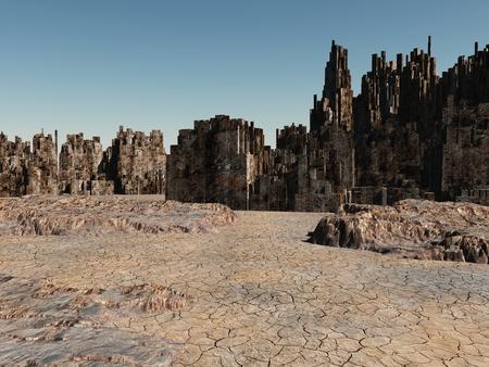 decease: Dead City in the Desert