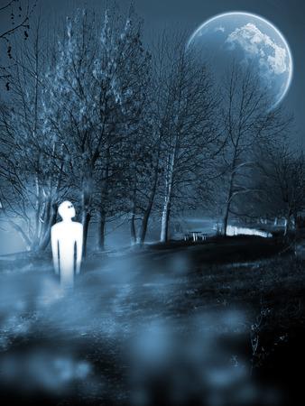 psyche: aparición Foto de archivo