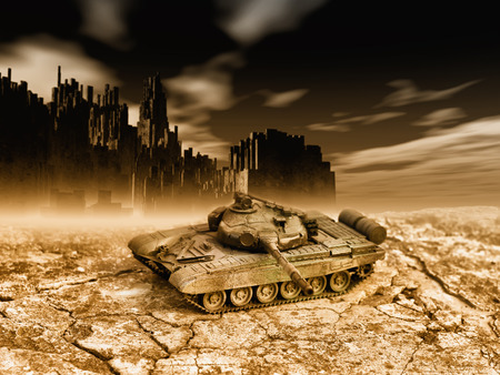 tanque de guerra: guerra
