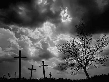 dole: mourning Stock Photo