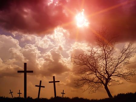 cemetery: cemetery Stock Photo