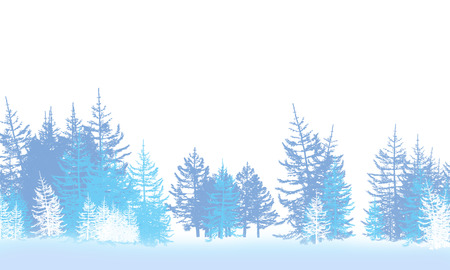 rind: winter forest