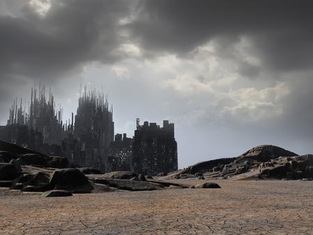 battle evil: ruins