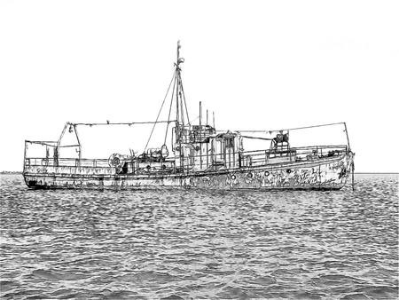 barque: ship