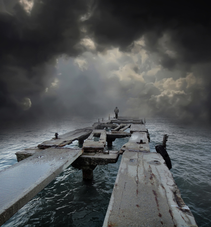 strandgoed Stockfoto