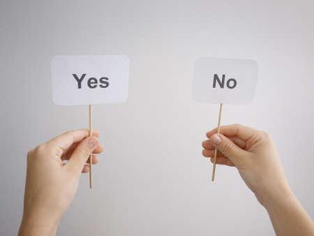 electing: choice concept