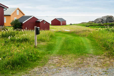 rorbu: classical Norway scenery